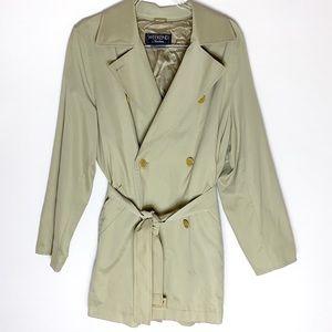 MaxMara Weekend short belted trench coat Sz 10